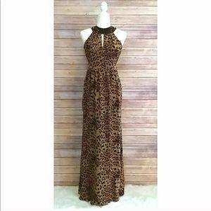 Rachel Zoe The Leopard Maxi Dress